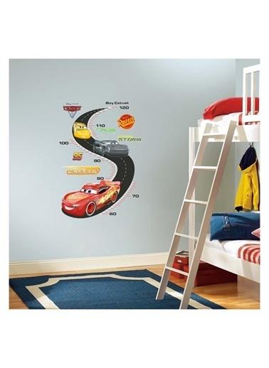 Disney Cars Boy Cetveli Duvar Sticker 48X68 Cm Renkli